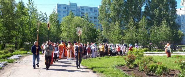 Крестный ход, в день ап. и ев. Иоанна Богослова