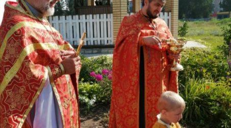 Молебен мученикам князьям Борису и Глебу