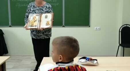 Занятия в новом учебном году в нашей Воскресной школе